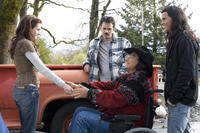 Kristen Stewart, Billy Burke, Gil Birmingham and Taylor Lautner in
