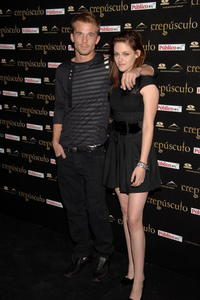 Kristen Stewart and Cam Gigandet at the premiere of