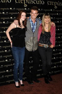 Kristen Stewart, Cam Gigandet and Director Catherine Hardwicke at the photocall of