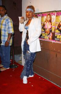 Da Brat at the Smooth Pre-BET party.