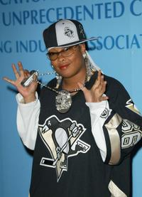 Da Brat at the Blue Diamond Affair Post AMA Celebration Party.