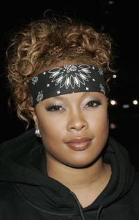 Da Brat at the Dionne Warwick: 45th Anniversary Spectacular after party.