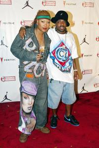 Da Brat and Jermain Duprey at the Source Hip-Hop Music Awards 2003.