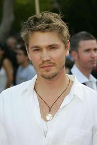 Chad Michael Murray at the premiere of