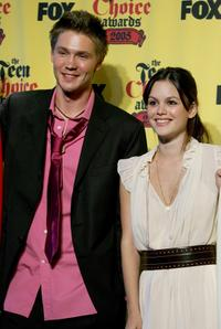 Chad Michael Murray and Rachel Bilson at the 2005 Teen Choice Awards.