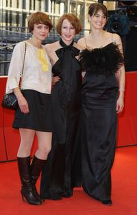 Maren Ade, Birgit Minichmayr and Janine Jackowski at the premiere of