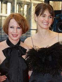 Birgit Minichmayr and Janine Jackowski at the premiere of