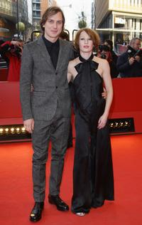 Lars Eidinger and Birgit Minichmayr at the premiere of