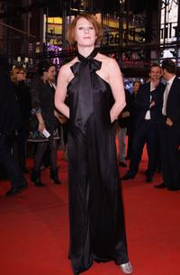 Birgit Minichmayr at the premiere of