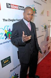 Sam Jones III at the 11th Annual Children Uniting Nations Oscar Celebration.