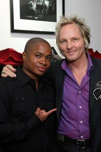 Sam Jones III and Matt Sorum at the launch of the new Sorum Noce Collection.