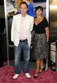 Dean Winters and Kelly Hulbert at the premiere of