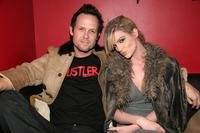 Dean Winters and Dara Young at the Crush Management & OK! Magazine's Viva La Karaoke at Angels & Kings.