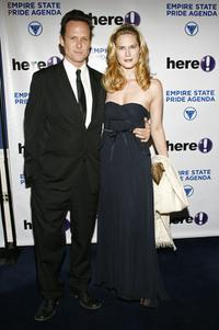 Dean Winters and Stephanie March at the Empire State Pride Agenda's 15th Annual Fall Dinner.