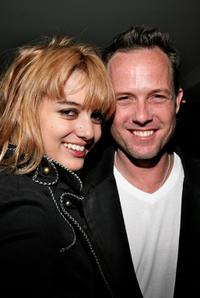 Chantal and Dean Winters at the launch of