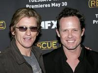 Denis Leary and Dean Winters at the Season Three New York premiere of