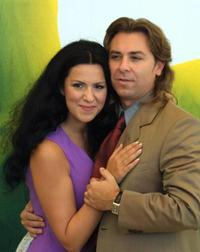 Angela Gheorghiu and Roberto Alagna at the 58th International Film Festival.