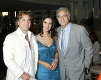 Roberto Alagna, Angela Gheorghiu and Placido Domingo at the LA Opera Opening Performance of