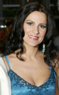 Angela Gheorghiu at the LA Opera Opening Performance of