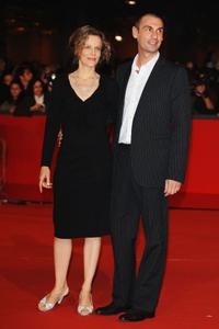 Sonia Bergamasco and Fabrizio Gifuni at the Marc'Aurelio Acting Awards during the 3rd Rome International Film Festival.