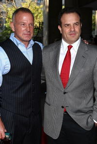 Brian Goodman and Rod Lurie at the premiere of