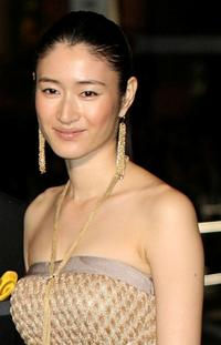 Koyuki at the 22nd Tokyo International Film Festival Opening Ceremony.