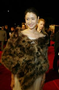 Koyuki at the premiere of