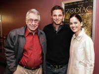 Philip Baker Hall, Justin Chambers and Robin Tunney at the premiere of
