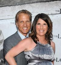 Patrick Fabian and Amanda Steckelberg at the screening of