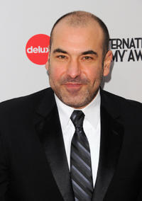 Rick Hoffman at the 39th International Emmy Awards in New York.
