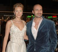 Kristanna Loken and Billy Zane at the premiere of