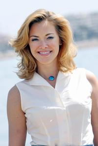Kristanna Loken at the 44th edition of the MIPTV.