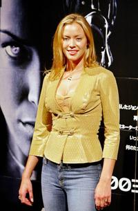 Kristanna Loken at the press conference of