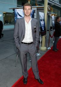 Jon Foster at the premiere of