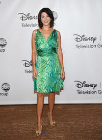 Amy Pietz at the Disney ABC Television Group's