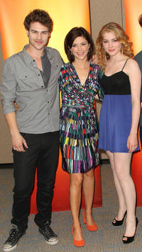 Benjamin Stone, Amy Pietz and Skyler Samuels at the Disney ABC Television Group Host