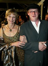 Olivia Hetreed and Geoff Bell at the premiere of