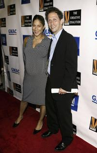 Lisa Benavides and Tim Blake Nelson at the