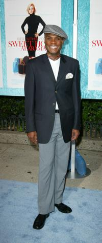 Nathan Lee Graham at the world premiere of