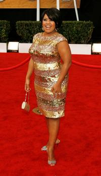 Chandra Wilson at the 14th annual Screen Actors Guild awards.