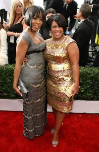 Tichina Arnold and Chandra Wilson at the 14th annual Screen Actors Guild awards.