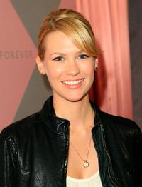 January Jones at the Diamond Information Center and InStyle Diamond Fashion Show Preview Luncheon.