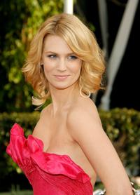 January Jones at the 14th annual Screen Actors Guild awards.