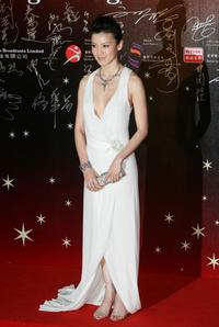 Kelly Lin at the 26th Hong Kong Film Awards.
