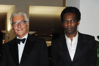 Paolo Baratta and William Nadylam at the premiere of