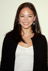 Kristin Kreuk at the WB Television Network Upfront All-Star Party.