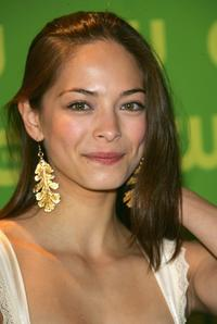Kristin Kreuk at the CW Television Network Upfront.