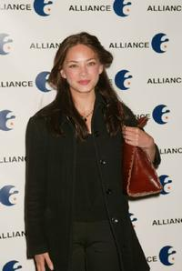 Kristin Kreuk at the Grey Alliance Upfront Party.