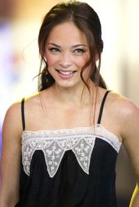 Kristin Kreuk at the MTV's Total Request Live.