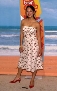 Kristin Kreuk at the 2004 Teen Choice Awards.